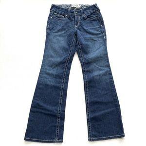 Ariat Boot Cut Jeans Womens Size 28S Dark Blue